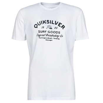 Clothing Men Short-sleeved t-shirts Quiksilver CLOSED CAPTION SS White