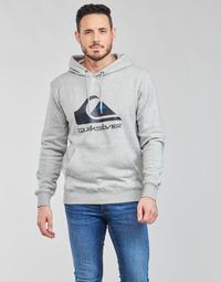 Clothing Men Sweaters Quiksilver BIG LOGO HOOD Grey