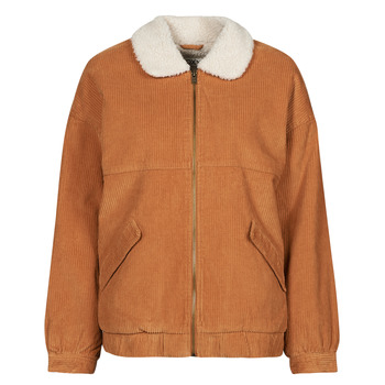Clothing Women Jackets Roxy READY TO GO COR Brown