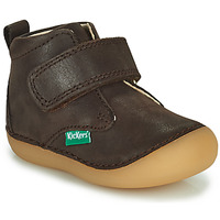 Shoes Boy Mid boots Kickers SABIO Brown