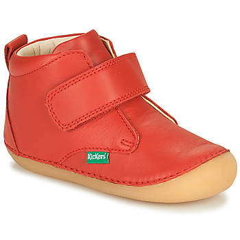 Shoes Children Mid boots Kickers SABIO Red