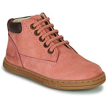 Shoes Girl Mid boots Kickers TACKLAND Pink
