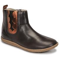 Shoes Girl Mid boots Kickers VETUDI Brown