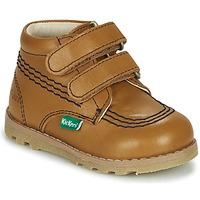 Shoes Children Mid boots Kickers NONOMATIC Camel