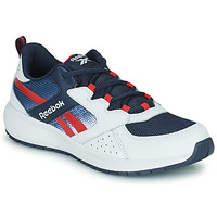 Shoes Boy Low top trainers Reebok Sport ROAD SUPREME White / Marine / Red