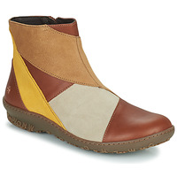 Shoes Women Mid boots Art ANTIBES Brown