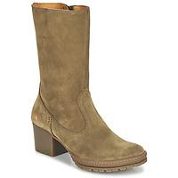 Shoes Women High boots Art CAMDEN Brown
