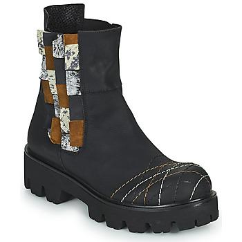 Shoes Women Mid boots Papucei WELS Black