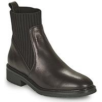 Shoes Women Mid boots Unisa ELLEN Black