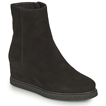 Shoes Women Ankle boots Unisa JUSTEL Black