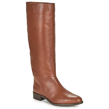 Shoes Women High boots Unisa BLEND Camel