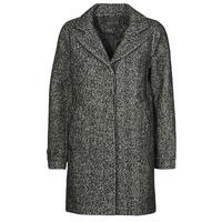Clothing Women Coats Chattawak WORKA Grey / Black