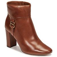 Shoes Women Ankle boots Lauren Ralph Lauren MCKAY Cognac