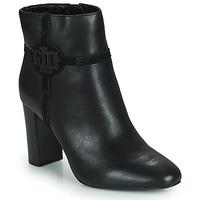 Shoes Women Ankle boots Lauren Ralph Lauren MARLEIGH Black