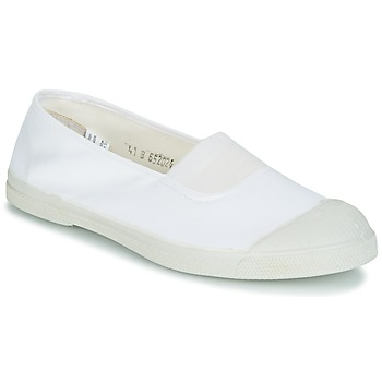 Shoes Women Flat shoes Bensimon MILONGA White