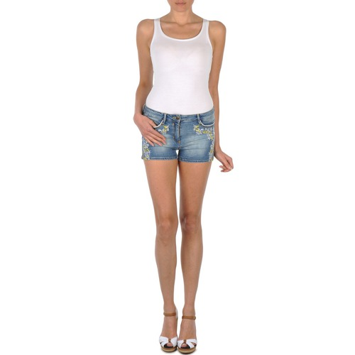 Clothing Women Shorts / Bermudas Brigitte Bardot JUE Blue