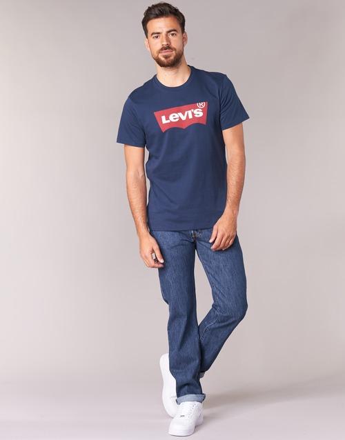 Clothing Men Straight jeans Levi's 501® Levi's®ORIGINAL FIT Blue