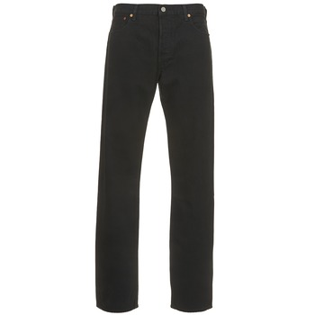 Clothing Men straight jeans Levi's 501 THE ORIGINAL  black / 80701