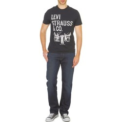 Clothing Men straight jeans Levi's 504 Black