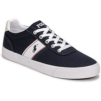 Shoes Low top trainers Polo Ralph Lauren HANFORD RECYCLED CANVAS Marine