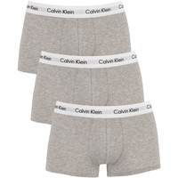 Underwear Men Boxer shorts Calvin Klein Jeans 3 Pack Low Rise Trunks grey