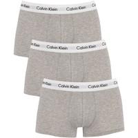 Underwear Men Boxer shorts Calvin Klein Jeans 3 Pack Low Rise Trunks grey