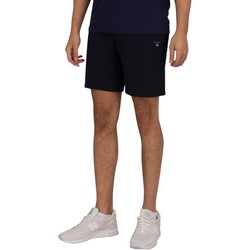 Clothing Men Shorts / Bermudas Gant Original Sweat Shorts blue