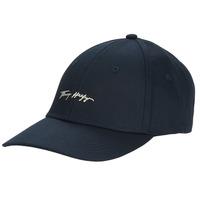 Clothes accessories Women Caps Tommy Hilfiger SIGNATURE CAP Marine