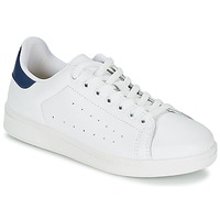 Shoes Men Low top trainers Yurban SATURNA White / MARINE