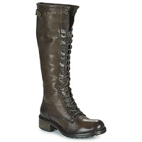 Shoes Women High boots Dream in Green NUCRE Grey