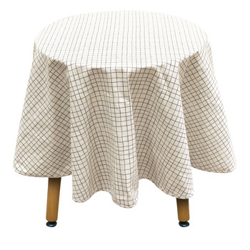 Home Tablecloth The home deco factory CARRA White-green