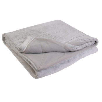 Home Blankets, throws The home deco factory SUNY Grey