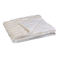 Home Blankets, throws The home deco factory ALICE White