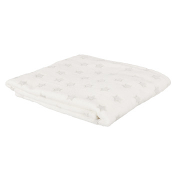 Home Children Blankets, throws The home deco factory STELLA White-gray / Clear