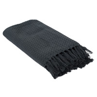 Home Blankets, throws The home deco factory GALICE Grey / Anthracite
