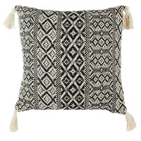 Home Cushions The home deco factory MIRAGE Beige / Black