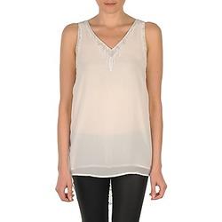 Clothing Women Tops / Sleeveless T-shirts Vero Moda PEARL SL LONG TOP White