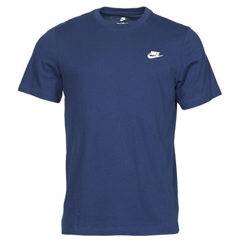 Clothing Men Short-sleeved t-shirts Nike NIKE SPORTSWEAR CLUB Blue / White