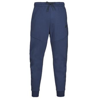 Clothing Men Tracksuit bottoms Nike NIKE SPORTSWEAR TECH FLEECE Marine / Black