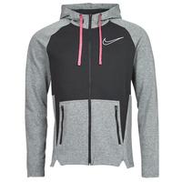 Clothing Men Sweaters Nike M NK TF HD FZ NVLTY Black / White