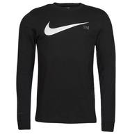 Clothing Men Long sleeved tee-shirts Nike M NSW TEE LS GRX TEE Black