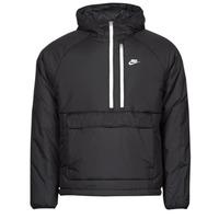 Clothing Men Jackets Nike M NSW TF RPL LEGACY HD ANORAK Black