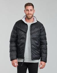 Clothing Men Duffel coats Nike M NSW TF RPL REVIVAL REV JKT Black / Grey