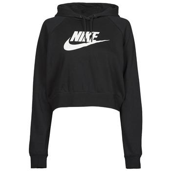 Clothing Women Sweaters Nike NIKE SPORTSWEAR ESSENTIAL Black / White