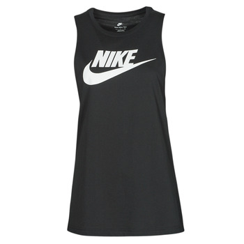 Clothing Women Tops / Sleeveless T-shirts Nike NIKE SPORTSWEAR Black / White
