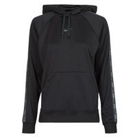 Clothing Women Sweaters Nike W NSW PK TAPE PO HOODIE Black