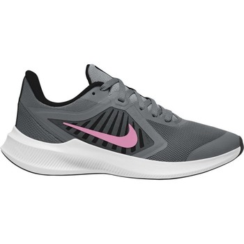 Shoes Children Running shoes Nike Downshifter 10 GS Black, Grey, Pink