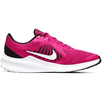 Shoes Children Running shoes Nike Downshifter 10 GS White, Black, Pink