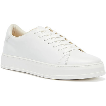 Shoes Men Low top trainers Vagabond Shoemakers John Leather Mens White Trainers White