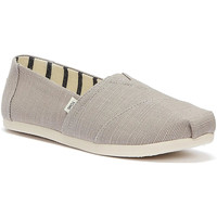 Shoes Women Espadrilles Toms Alpargata Womens Grey Espadrilles Grey